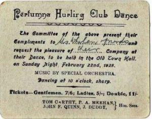 Portumna Hurling Club Dance